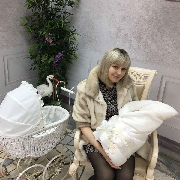 Натали родила Женю в апреле этого года