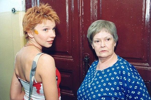 В 2000-х Нина Гребешкова играла в сериалах