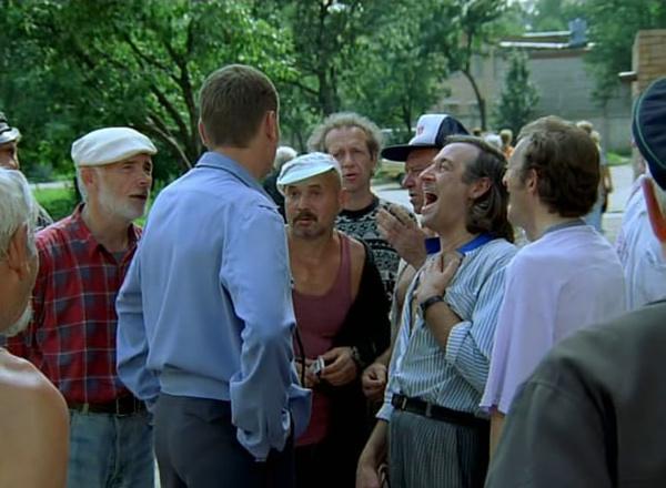 Кадр из фильма «Ворошиловский стрелок»