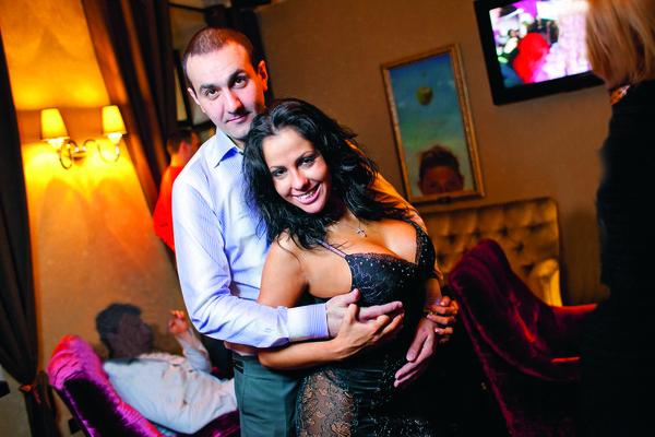 Елена с Владимиром Савро