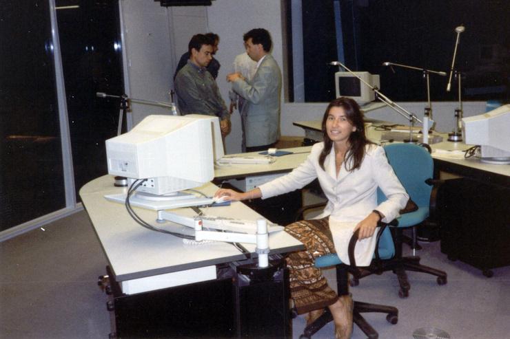 Ирада Зейналова в начале карьеры