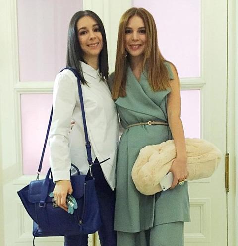 Наталья Подольская с сестрой Юлианной
