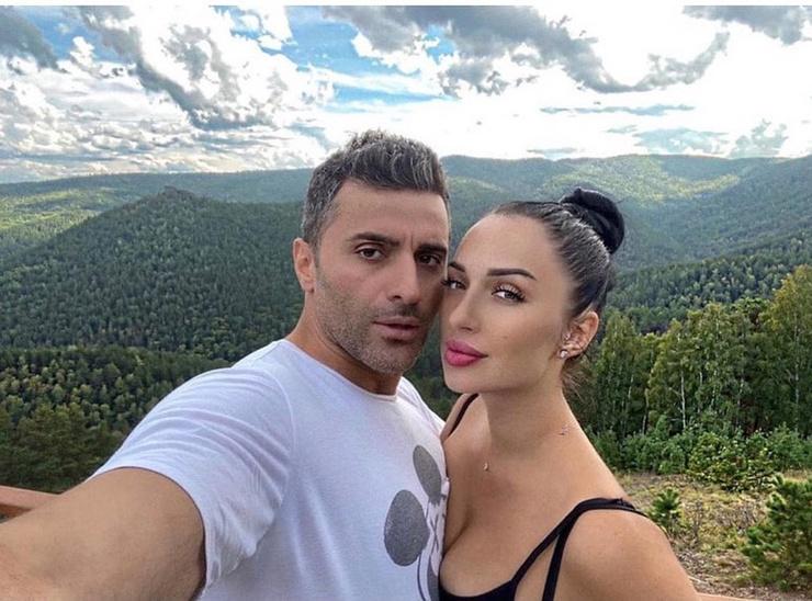 Гурам и его новая жена Юлия