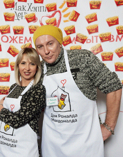 Сергей Набиев с женой