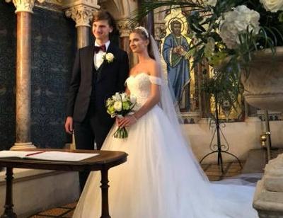 Сын Игоря Бутмана женился в Англии