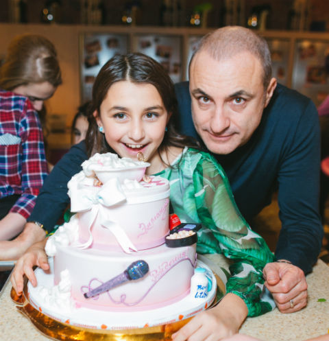 Михаил Турецкий с дочерью Эммануэль