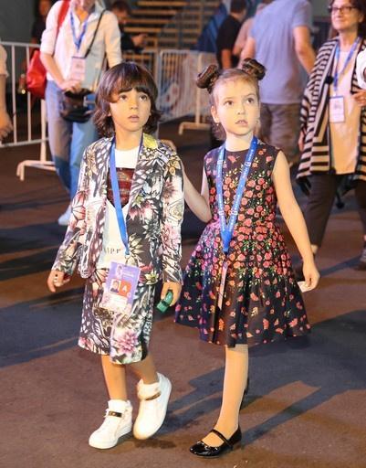 Дети Филиппа Киркорова Алла-Виктория и Мартин