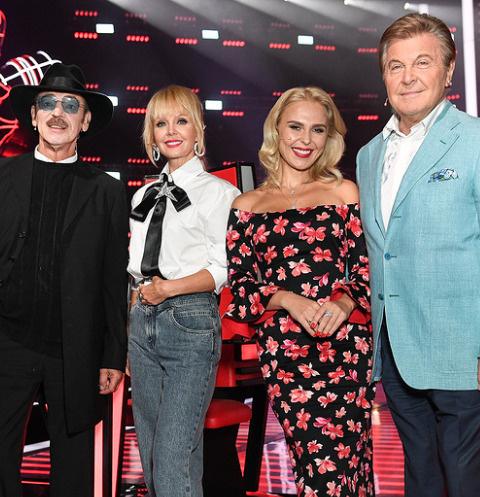 Наставники второго сезона шоу «Голос 60+»