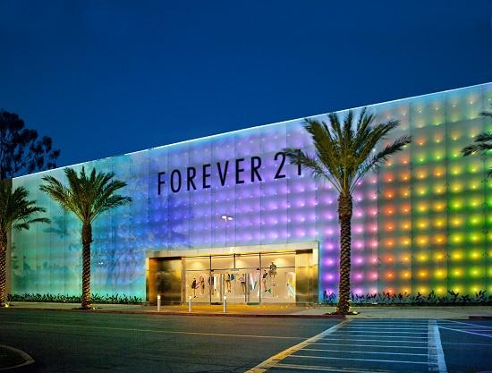Магазин Forever 21 в США