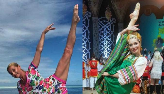Олимпийская чемпионка по гимнастике пытается снискать славу Анастасии Волочковой