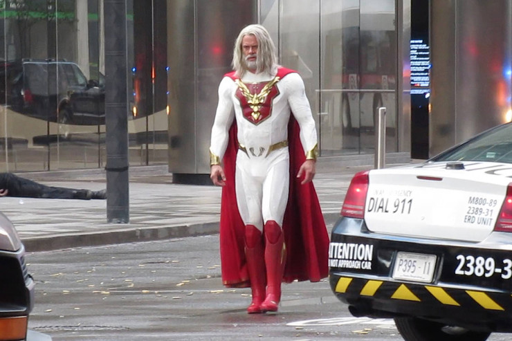 Перед нами очередной сериал про супергероев