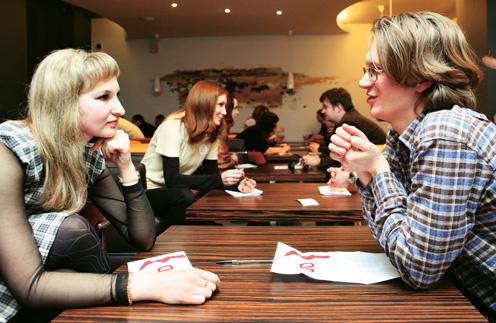 Клубы быстрых знакомств появились в России несколько лет назад