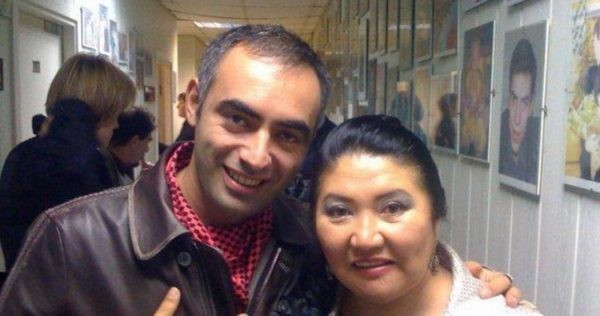 Зираддин Рзаев и Кажетта Ахметжанова