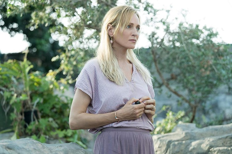 Ума Турман исполнила одну из самых неоднозначных ролей в сериале.