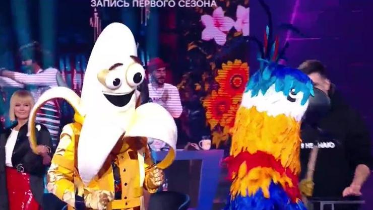 Регина Тодоренко больше всего заинтригована маской Банана