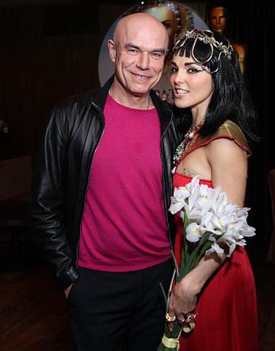 Сати Казанова и Сергей Мазаев