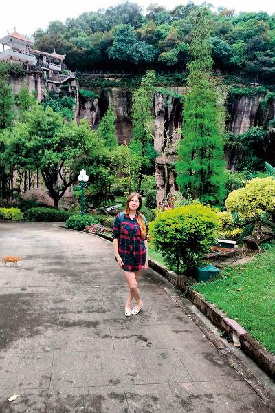 Сейчас путешественница живет в Китае