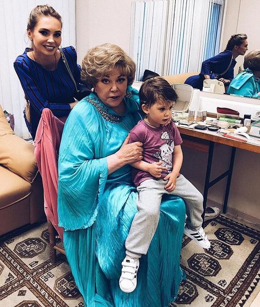 Наталья дружит с бабушкой Пьехи Эдитой Станиславовной