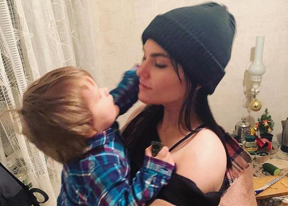 Фрейя отдала сына Марка на воспитание Марии Шукшиной