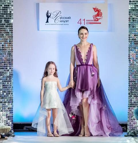 Анна Снаткина с дочерью