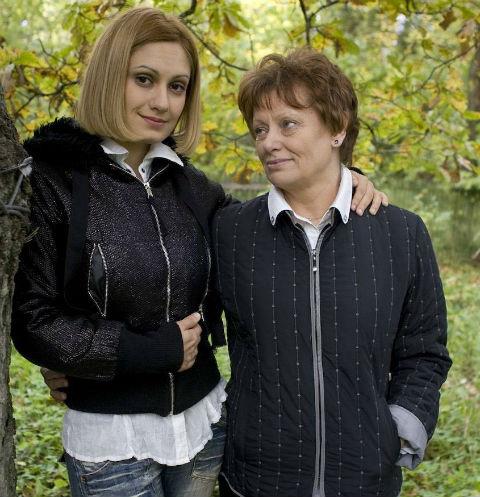 Валентина Константиновна и Карина Мишулина
