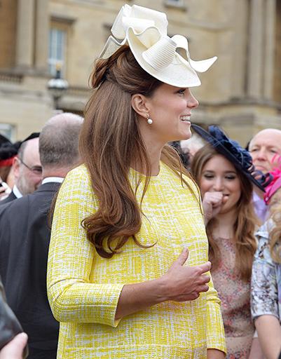 22 мая. Кейт на вечеринке в саду имени Королевы Елизаветы II