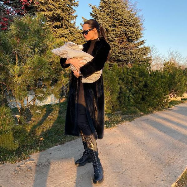 Анастасия Решетова все время проводит с Ратмиром