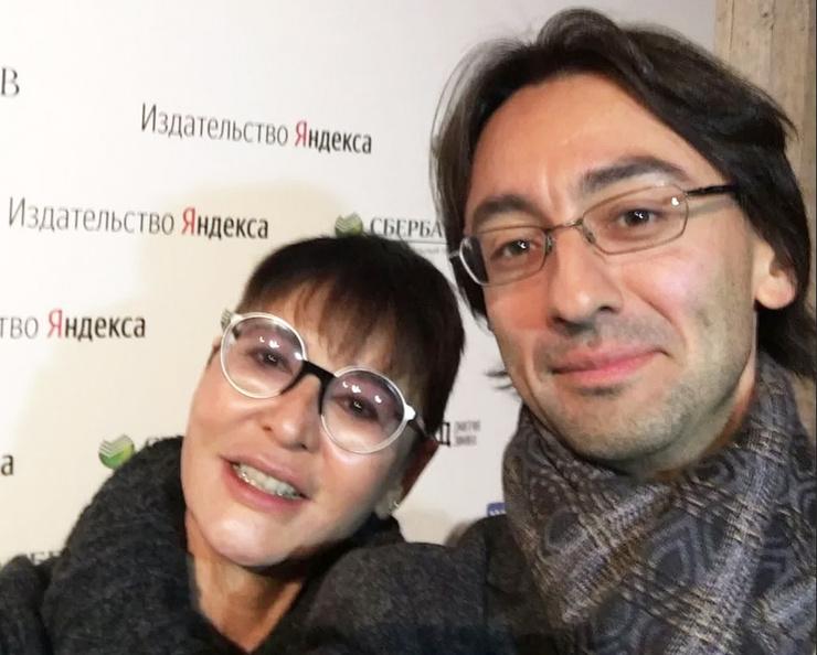 Ирина Хакамада с сыном Даниилом
