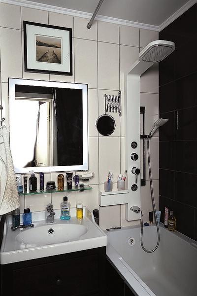 В отделе сантехники выбор пал на самый  необычный душ