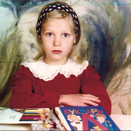 С первого класса Кристина мечтала стать актрисой