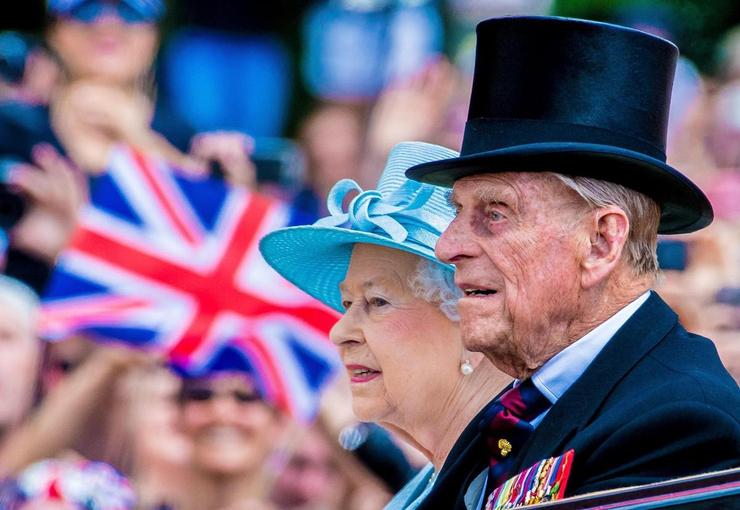 Елизавета II и принц Филипп были вместе 74 года