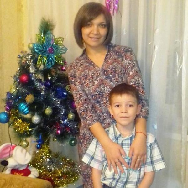 Айгуль Фазыйлова с сыном