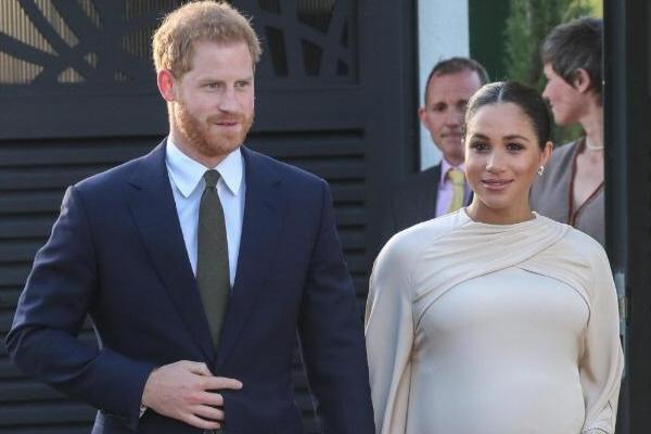 Принц Гарри и Меган Маркл недавно стали родителями