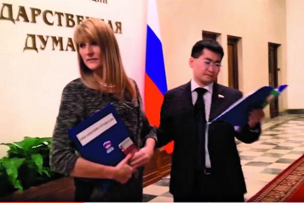 Депутаты Госдумы тоже поучаствовали в модном флешмобе