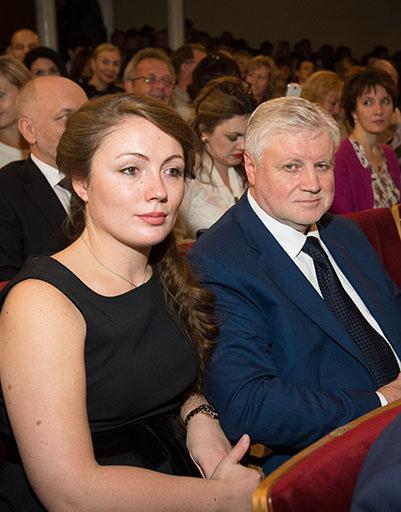 Сергей Миронов с супругой Ольгой