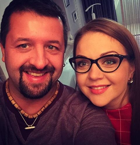 Беременная Марина Девятова вышла замуж