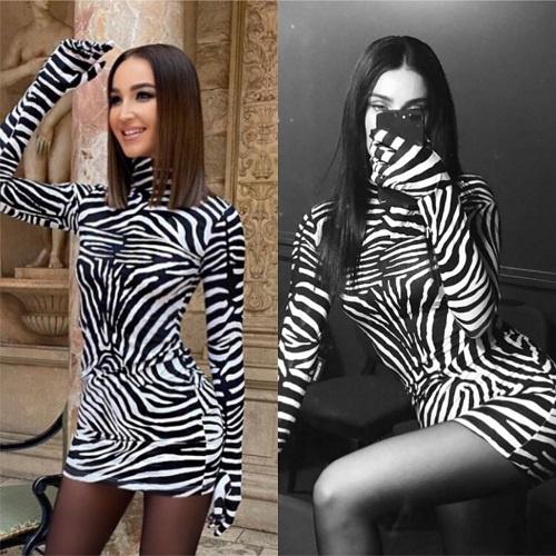 Две зебры в перчатках: Ольга Бузова против диджея Фионы Дзанетти
