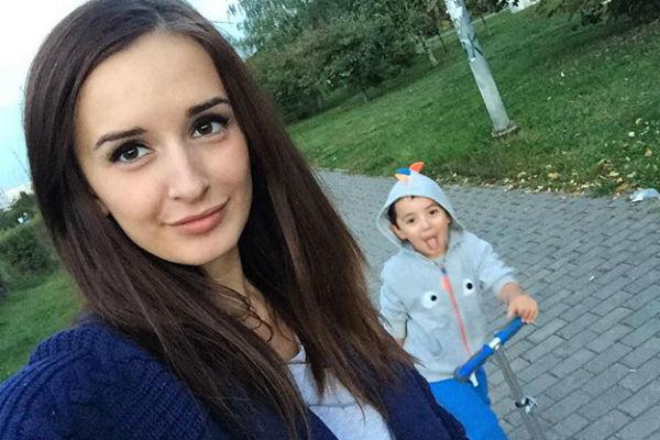 Маргарита с сыном