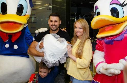 Дарья и Сергей Пынзари воспитывают двоих сыновей