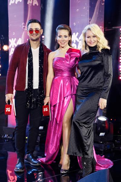 Константин Тарасюк, Юлия Барановская и Елена Боска