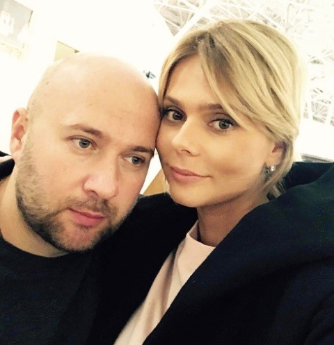 Певица Ксения Новикова с супругом Алексеем Сорокиным