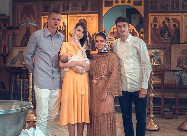 20 августа Тарасов крестил дочь Милану