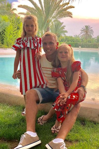 У Дарьи и Дениса две дочери