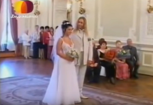 Наташа Королева и Сергей Глушко узаконили отношения в августе 2003-го