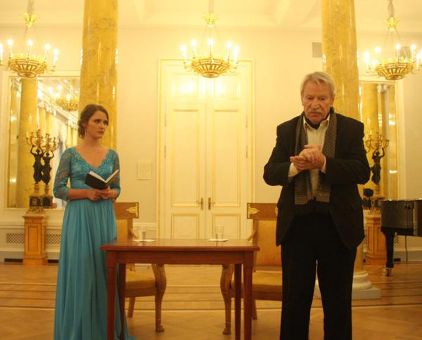 Творческий вечер Ивана Краско и его жены Натальи