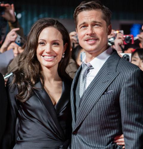 Анджелина Джоли получила временную опеку над детьми