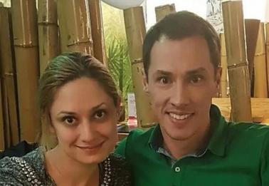 Карина Мишулина и Тимур Еремеев почтили память отца в его день рождения