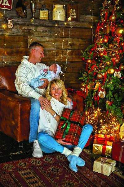 Рождение сына еще больше укрепило отношения супругов