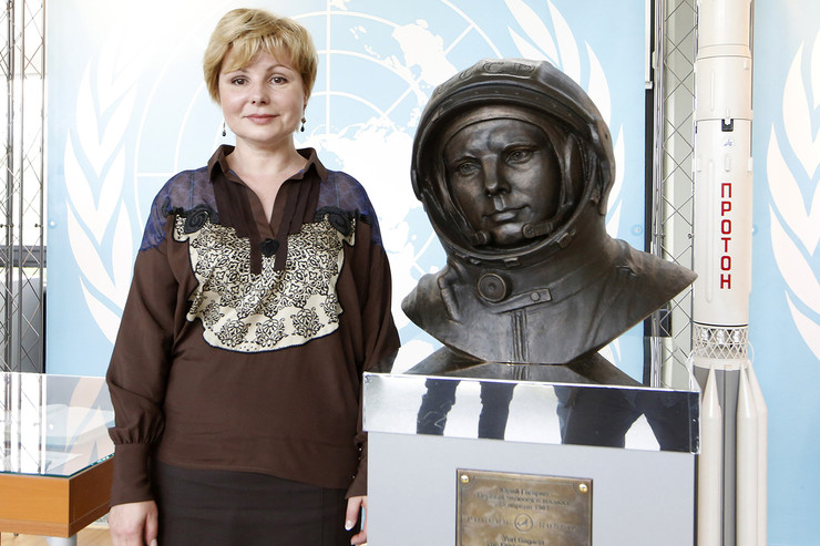 Елена Гагарина всегда гордилась отцом