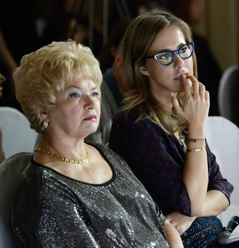 Людмила Нарусова мечтает дать внуку имя мужа